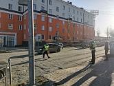 ГИБДД Первоуральска устанавливает обстоятельства ДТП с участием несовершеннолетнего пешехода