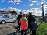Полицейские Первоуральска провели акцию «Безопасный двор» в сельской местности